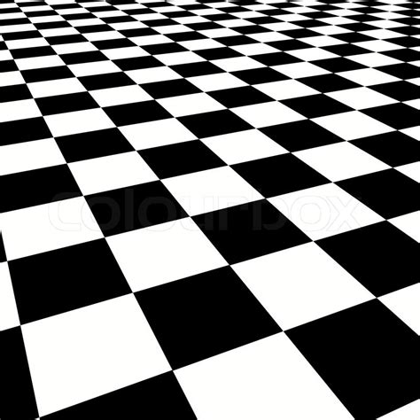 checkerboard background checkerboard background perspective view stock photo