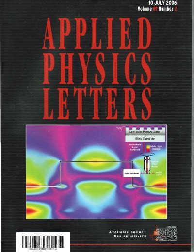 applied physics letters applied physics letters gplusnick 1080