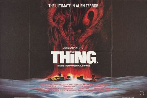 the thing 1982 imdb the thing movie poster 3 of 3 imp awards