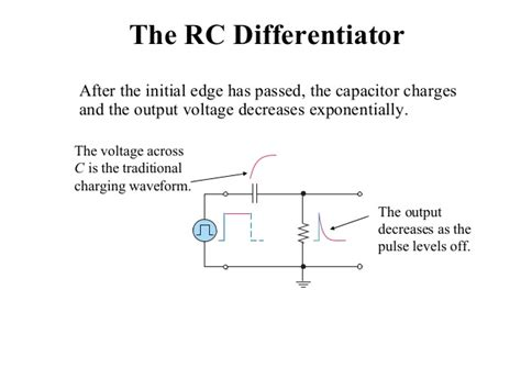 rc differentiator and integrator circuits pdf rc and rl differentiator and integrator circuit