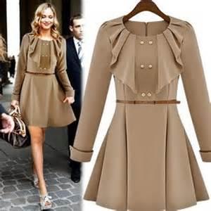 fashion elegant stylish women coat lady party