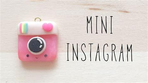 tutorial instagram youtube mini instagram charm polymer clay tutorial youtube