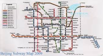 Beijing Subway Map 2015 by Beijing Subway Map 2009 Beijing Metro Map 2012 Batong Line