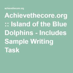 Island Of The Blue Dolphins Essay by Setting Island Of The Blue Dolphins The Students Track Karana S Story On Their Own Map