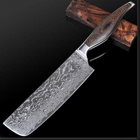Japanese Damascus Kitchen Knives 7 Inch Japanese Chef Knife Germany Vg 10 Damascus Japanese