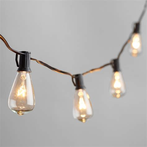 Edison Bulb Patio String Lights Edison Style String Lights World Market