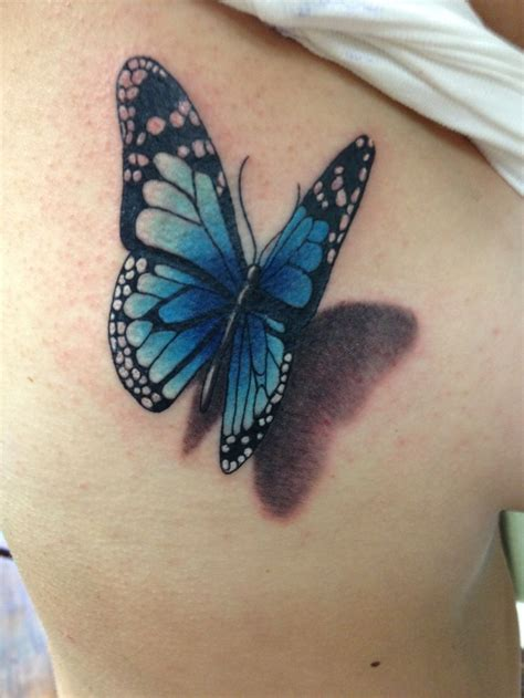 3 butterfly tattoo 50 amazing 3d butterfly tattoos