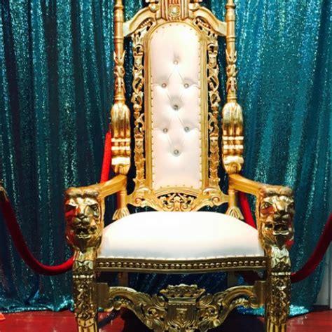 Royal Chair Rental by The Brat Shackelegant Throne Chair Rentals The Brat Shack