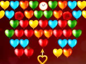sevgili temali balon patlatma oyunu oyun gezegeni