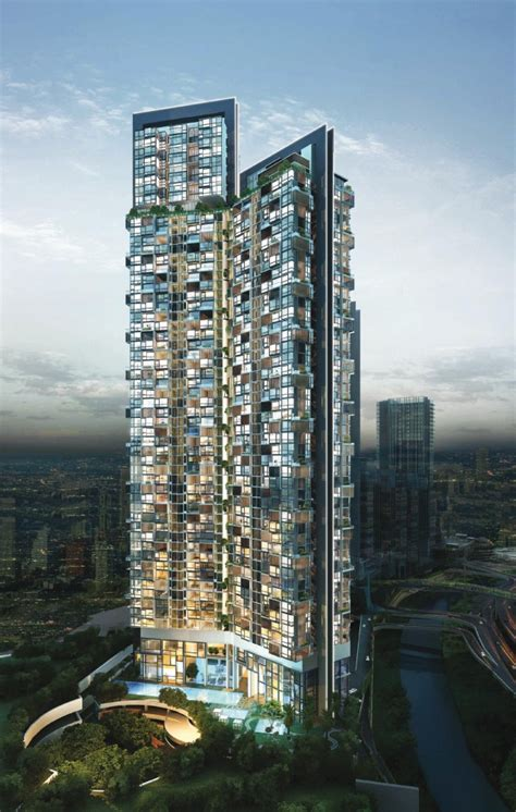 residential towers getting the backyard in the city part kl eco city residential tower マレーシア不動産投資 総合情報サイト