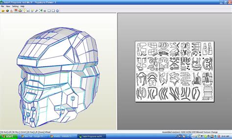 Paper Craft Software - pepakura files israce