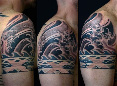 25 wave tattoo designs ideas design trends