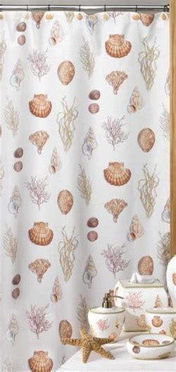 seashell bathroom curtains 17 best images about shower curtains on pinterest vinyls modern kitchen curtains