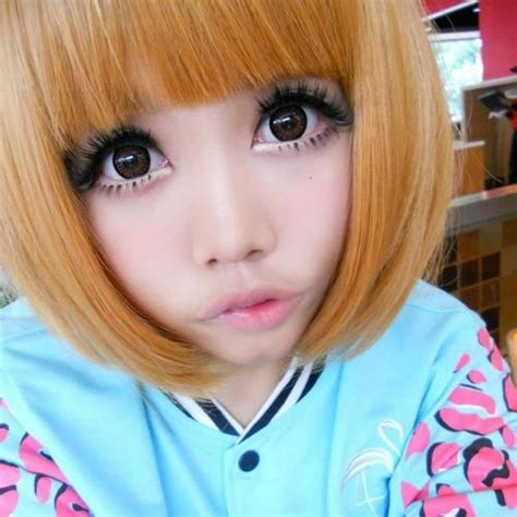 Softlens Kawaii Circle Softlense Pretty Doll 63 best images about real anime on make up tutorial gyaru and living dolls