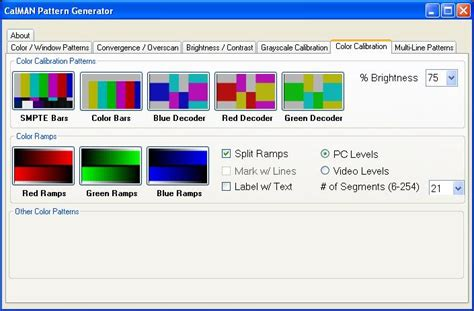 test pattern software free download calman htpc pattern generator automation