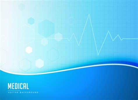 design concept background blue medical background concept poster design vector