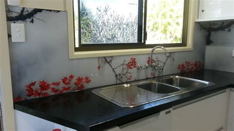 designer kitchen splashbacks printed glass kitchen splashbacks for your kitchen or