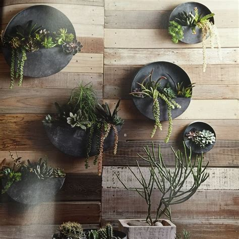 orbea zinc wall planters preorder at love whiskey for