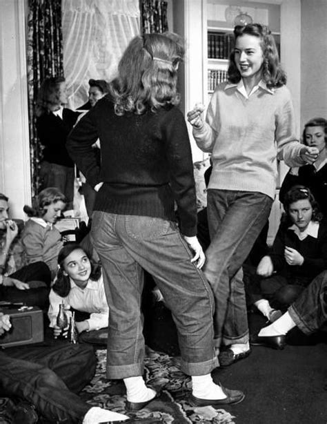 vintage photo blue jeans and bobby sox girl gang 25 best ideas about bobby socks on pinterest lace socks