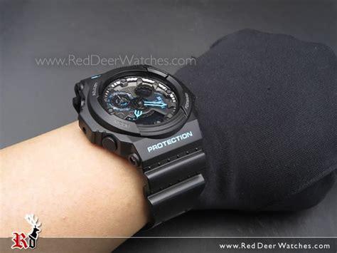 Sale Casio G Shock Blue Black buy casio g shock black with blue 200m sport ga