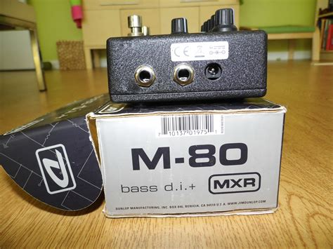Mxr M80 Bass D I mxr m80 bass d i image 595383 audiofanzine