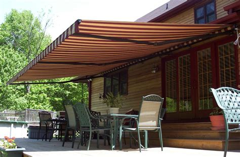 what is an awning a quick guide on basic parts of a retractable awning