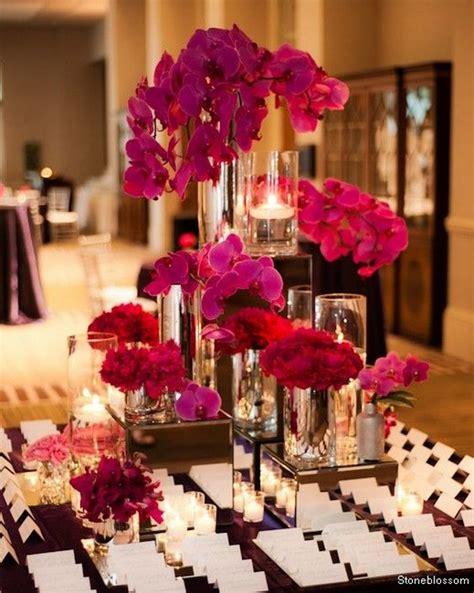 30 fuchsia pink wedding color ideas deer pearl flowers