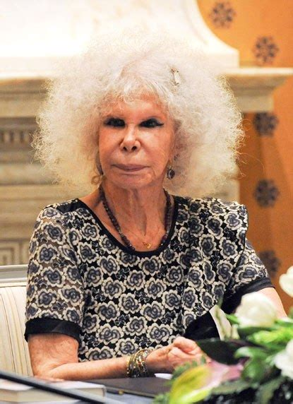 yo cayetana duchess of alba presents her new autobiography quot yo cayetana quot radar online