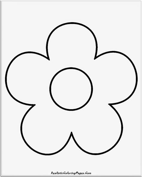 flower coloring pages easy simple flower coloring pages for preschoolers grig3 org