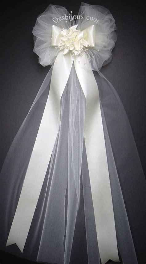wedding pew bows church decorations wedding pew bows pew