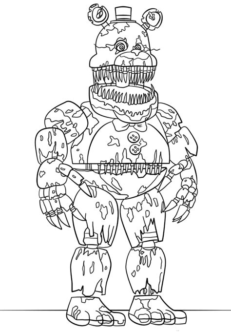 Five Nights At Freddy S Printables free printable five nights at freddy s fnaf coloring pages