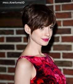 pin back a long pixie fringe anne hathaway pixie long fringe me pinterest