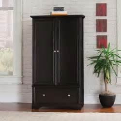 Storage Armoire Wardrobe Closet Black Storage Armoire Drawer Clothes Closet Antique