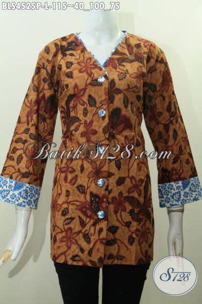desain baju kerah online toko baju batik online langganan pegawai pakaian batik