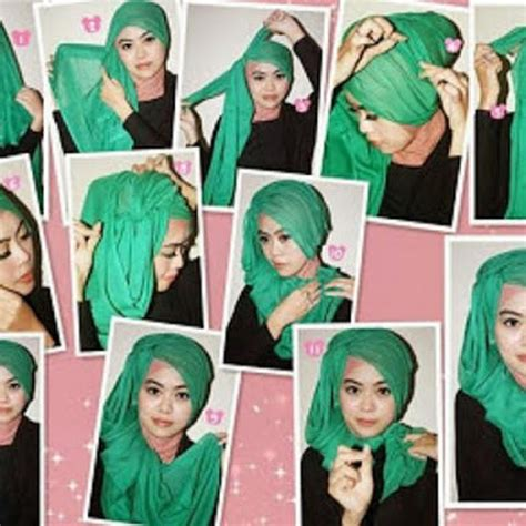 tutorial hijab simple ala ivan gunawan kerudung trend kerudung trend