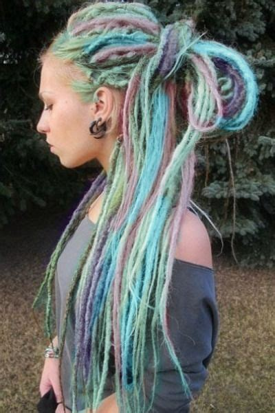 color dreads 322 best colored dreads colorful dreads images on
