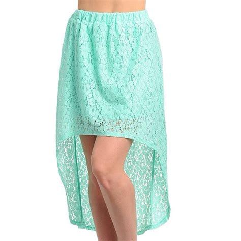 mint high low lace skirt m l from jenn s closet on poshmark