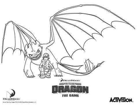 dreamworks dragon coloring page free coloring pages of how to train a dragon