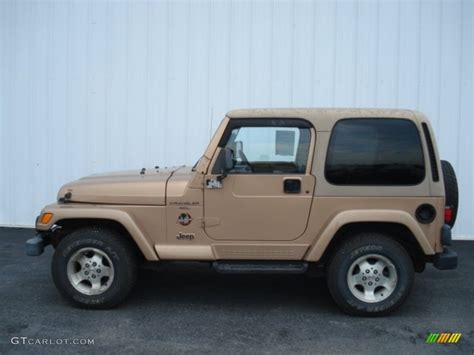 2000 desert sand pearl jeep wrangler 4x4 69351776 photo 8 gtcarlot car color