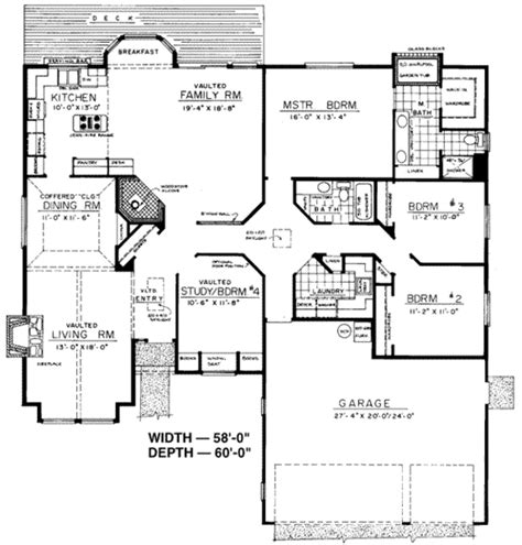 scott homes plan 2185 traditional style house plan 4 beds 2 00 baths 2185 sq