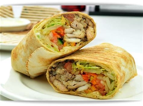 resepi shawarma ayam ala arab  jari novella