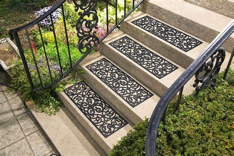 Mats For Outdoor Steps by Carpet Stair Treads