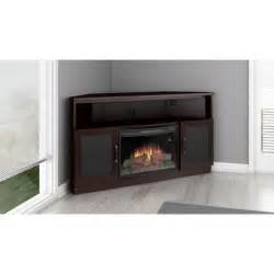 fireplace tv stand 60 inch furnitech ft60cccfb 60 quot tv corner console with 25 quot curved
