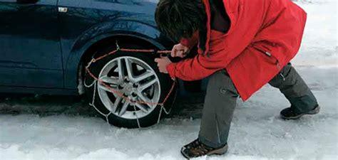 cadenas coche obligatorio viajar en coche con ni 241 os y con nieve qu 233 hacer con los