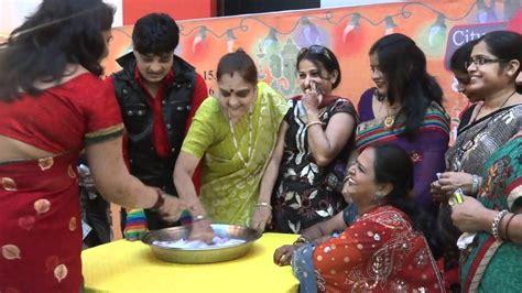 themes kitty party ladies karva chauth suruchi mall 36 game show anchor raipur