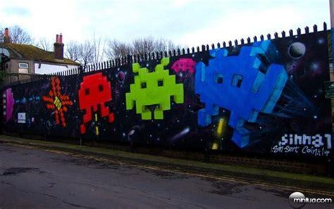 os grafites mais nerds  mundo minilua