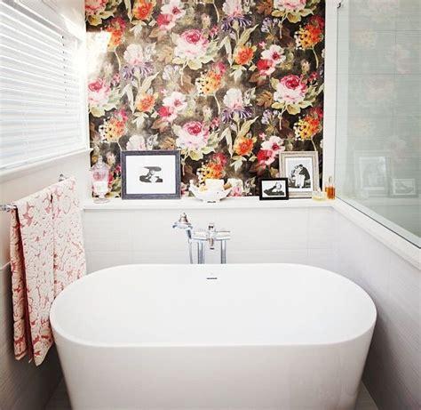 Bathroom Wallpaper Floral Jillian Harris Design Bathroom Beautiful