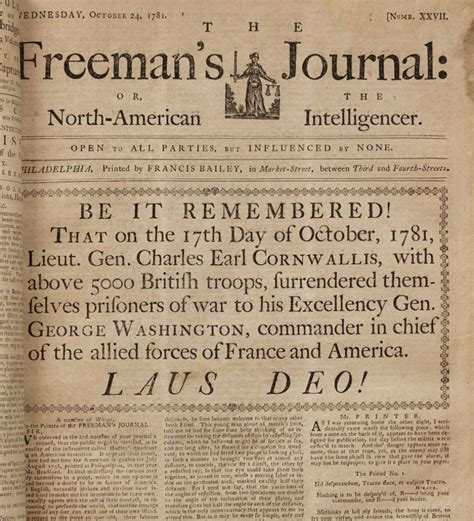 revolutionary war newspaper template american creation 1781 war is we win