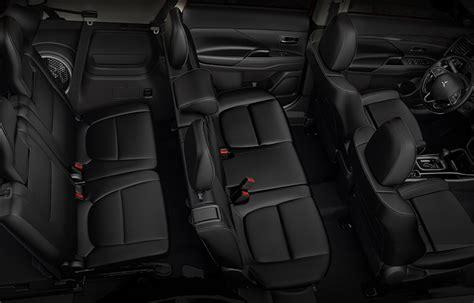 2017 Mitsubishi Outlander 3rd Row Seating & Comfort   Mitsubishi Motors