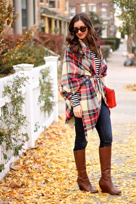 scarves to add oomph to any fall look glam radar the plaid blanket scarf sparkles and shoes bloglovin